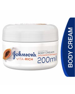Johnson Vita-Rich Body Cream With Papaya Extract 200 ml