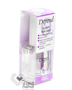 Depend Nail Care O2 Glossy Topcoat 11 ml
