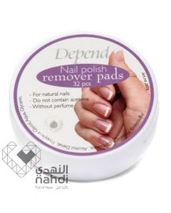 Depend Nail Polish Remover Pads