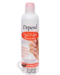 Depend Nail Polish Remover For Artificial Nails 250 ml