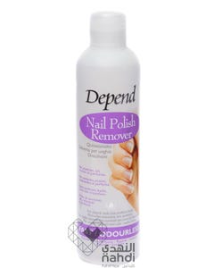 Depend Nail Polish Remover Fast/Odourless 250 ml