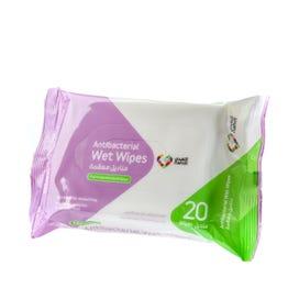 Nahdi Antiseptic Wet Wipes 20 pcs