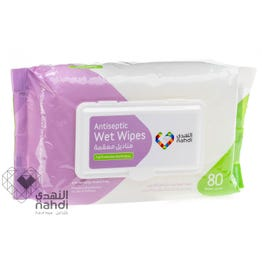 Nahdi Antiseptic Wet Wipes 80 pcs