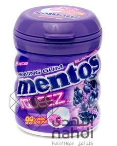 Mentos Squeez With Blackberry Bottle 28 pcs