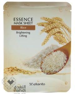Elianto Essence Mask Sheet - Rice 20 gm
