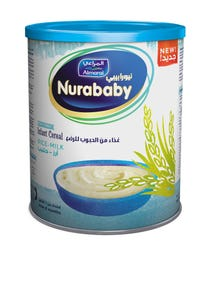 Nurababy Baby Cereal Rice & Milk 400 gm