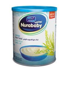 Nurababy Baby Cereal Rice & Milk 400 gm