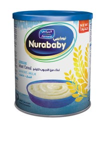 Nurababy Baby Cereal Wheat & Milk 400 gm
