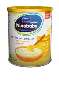 Nurababy Baby Cereal Wheat Milk & Honey 400 gm