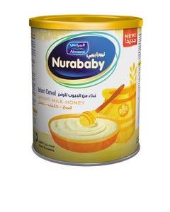 Nurababy Baby Cereal Wheat Milk & Honey 400 gm