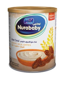 Nurababy Baby Cereal Wheat Milk & Dates 400 gm