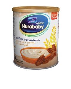Nurababy Baby Cereal Wheat Milk & Dates 400 gm