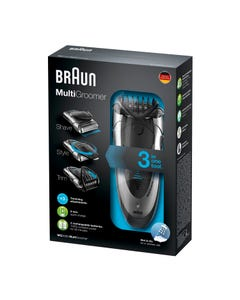 Braun Electrical Face Shaver & Trimmer & Styler 3-in-1 MG5090