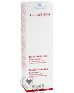 كلارينس منظف رغوي لطيف للبشرة العادية والمختلطة 125 مل