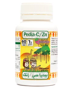 Pedia-C/Zn chewable 60 Tab