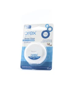 Orex Dental Unwaxed Floss With Floride 50 m