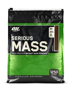 ON Serious Mass Chocolate 5.44 kg Powder