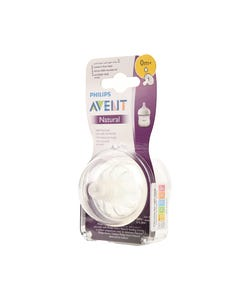 Avent Natural Feeding Teats 0 M 2 pcs
