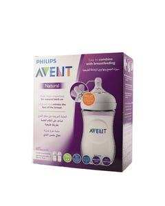 Avent Natural Feeding Bottle 260 ml 2 pcs