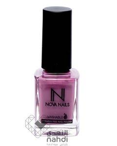 Nova Nails Washable Nail Polish Grape Pop #101