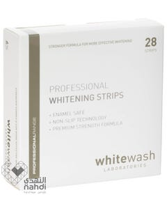WhiteWash Strip Professional Teeth Whitening Strips 6% 28 pcs