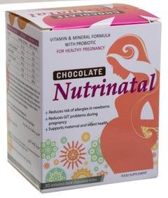 نيوتريناتال شيكولاتة لصحة الأم و الجنين 30 قطعة