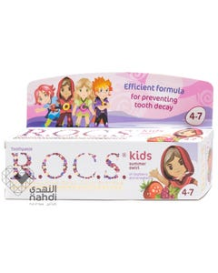 ROCS Toothpaste kids Raspberry & Strawberry 35 ml