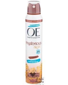 OE Deo Spray Mysterious Night 200 ml