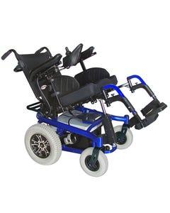 CTM Tilting Power Chair Blue HS-7200T-BU1