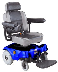 CTM Compact Rear-Wheel Drive Power Chairblue HS-1000-BU1