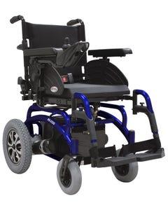 سي تي ام كرسي كهربائي اطار ثابت مقعد متغير ازرق HS-6500-BU1