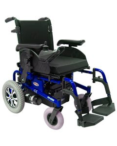 CTM Folding Power Chair Blue HS-6200-BU1