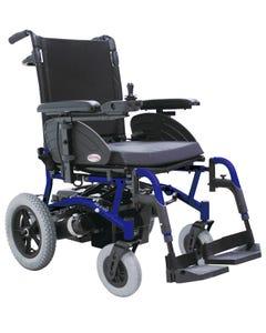 سي تي ام كرسي كهربائي ينطوي صيانة اقل 18انش ازرق HS-6100-BU1
