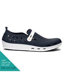 ووك حذاء نيكسو 02 ابيض-ازرق غامق مقاس 42
