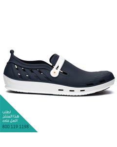 ووك حذاء نيكسو 02 ابيض-ازرق غامق مقاس 43
