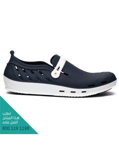 ووك حذاء نيكسو 02 ابيض-ازرق غامق مقاس 44