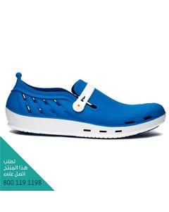 ووك حذاء نيكسو 06 ابيض-أزرق وسط مقاس 37
