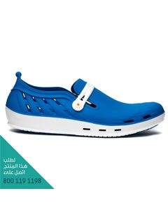 ووك حذاء نيكسو 06 ابيض-أزرق وسط مقاس 39