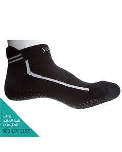 Sissel Yoga Socks - Size (36-40) Black