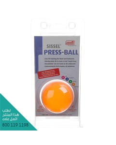 Sissel Pressball X-Strong Orange