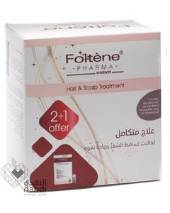 Foltene Complete Hair Treatment Value Pack ( 2+1 ) Women