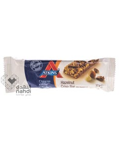 Atkins Chocolate Crisp bar hazelnut 37 gm