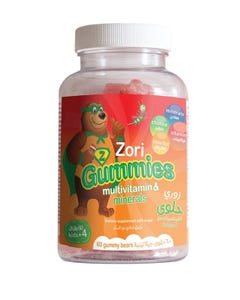 Zori Gummies Multivitamins & Minerals 60 Gummy Bears