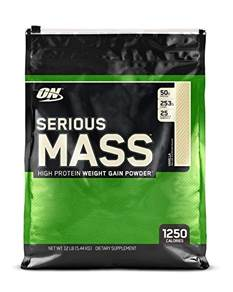 ON Serious Mass Vanilla 5.44 kg Powder