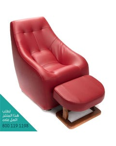Vital Energy Chair Whole Body Vibration Red UR8000