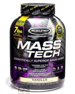 Muscletech Mass Tech Vanilla 3.18 kg Powder