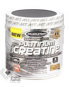 Muscletech 100% Platinum Creatine 402 gm Powder