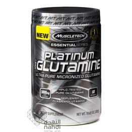 Muscletech 100% Platinum Glutamin 302 gm Powder
