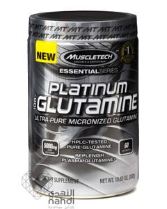 Muscletech 100% Platinum Glutamin 302 gm Powder