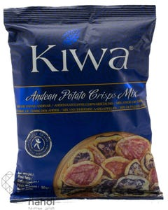 Kiwa Andean Potato Chips Mixed 50 gm